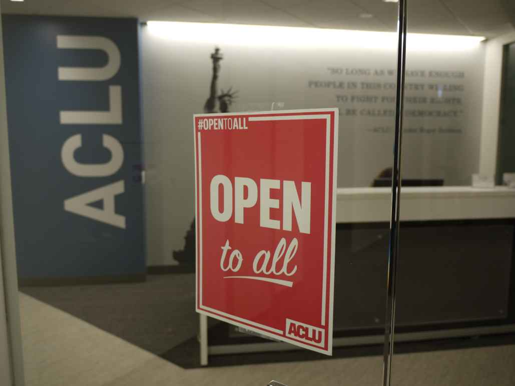 ACLU Open To Tall