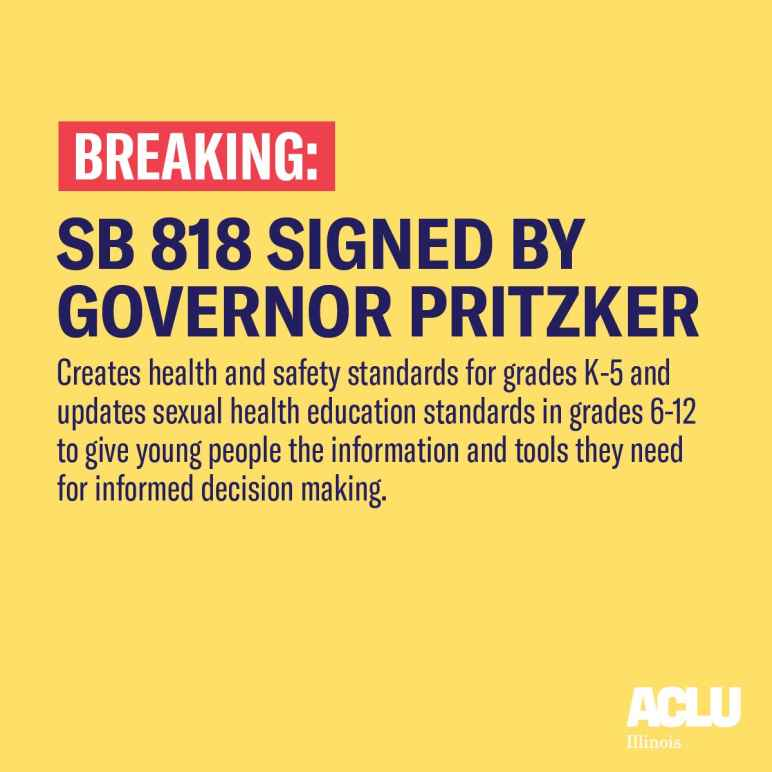 Keeping Youth Safe and Healthy Act Signed By Pritzker