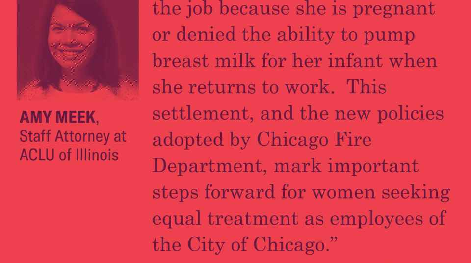 Chicago Fire Department Paramedic Settles Pregnancy