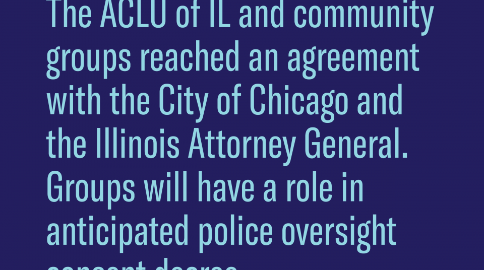 In A Major Step Toward Federal Oversight Of Police Reform Community