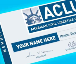 Become a Member of the ACLU